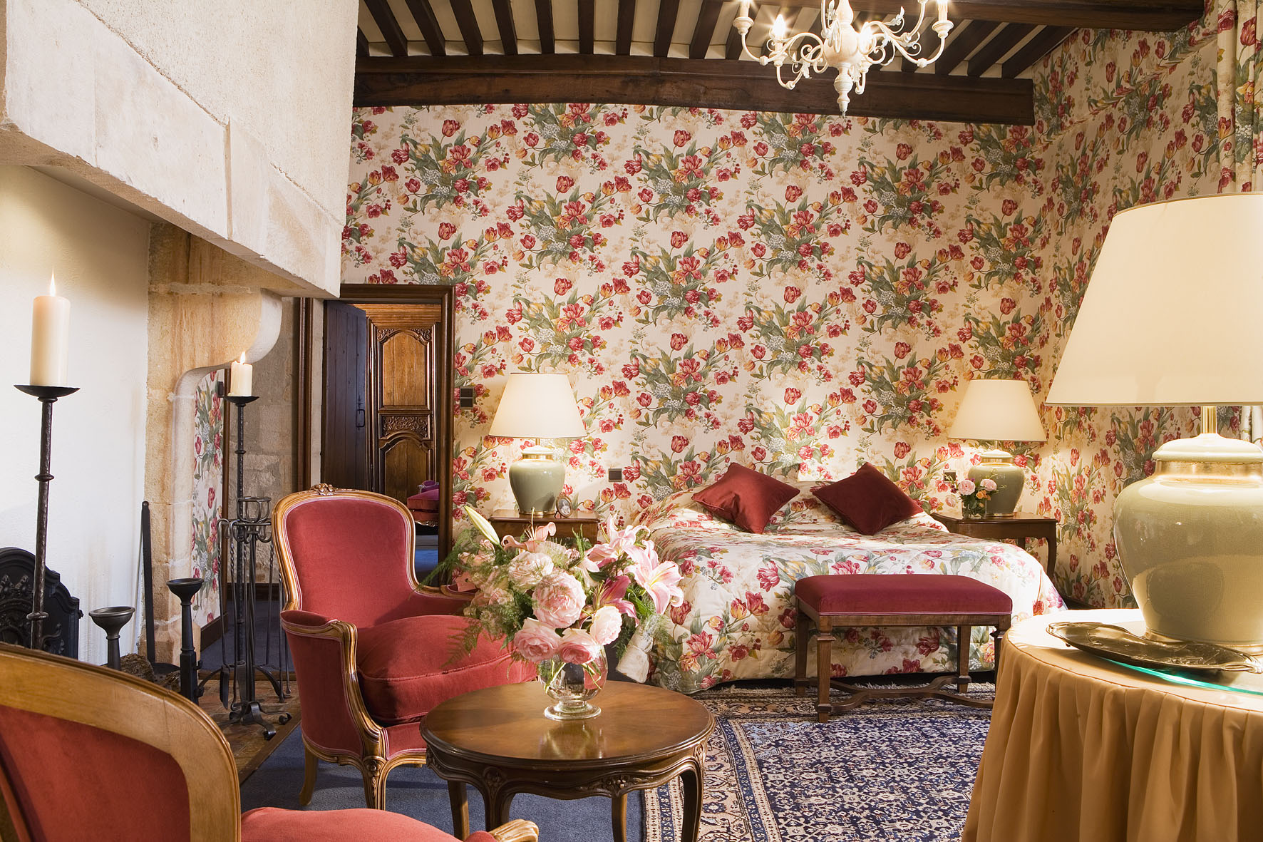 Junior Suite - CHATEAU DE GILLY©HARDEL