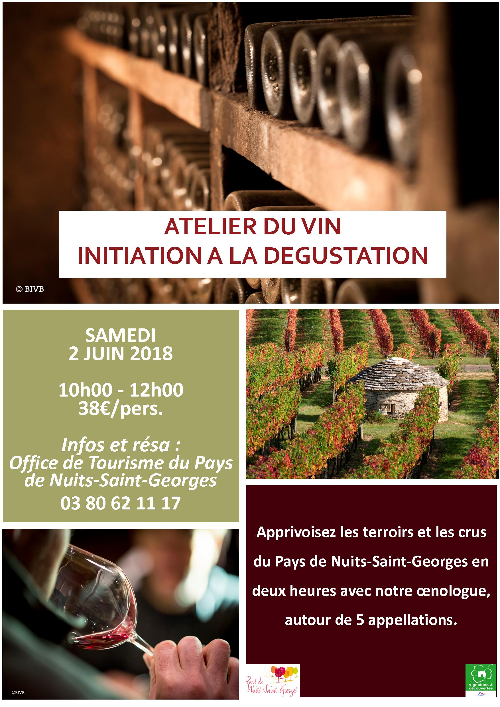 Atelier du vin - Initiation à la dégustation